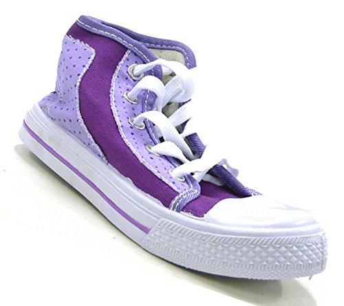 Schuh-City Kinder Schuhe Sneaker Madchen Jungen Sneaker Lila