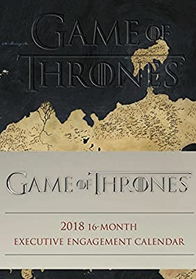 Official Game of Thrones 2017-2018 16-Month Diary