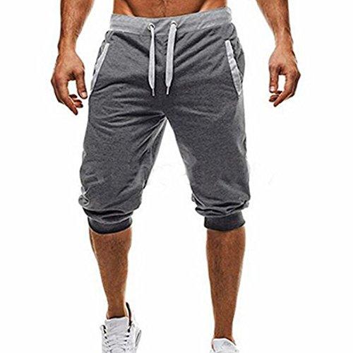 Hombres Pantalones, ❤️ Manadlian Pantalones harén para hombre Casual Persona que practica...