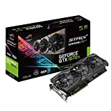 Asus Rog Strix Geforce Gtx 1070 Ti Advanced Edition 8GB Gddr5 With Aura Sync RGB For Best Vr & 4K Gaming