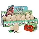 Dinosaurier Egg Toy Ausgraben Dino Ei Spielzeug Party Dinosaur Figuren Braben...