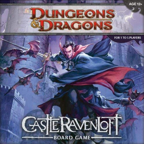 Wizards of the Coast Juego de Mesa 207790000 - Castle Ravenloft