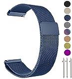 Metou03 Gear S2 Classique / vitesse Sport / Galaxy Montre 42mm Bracelet, 20 mm milanais boucle réglable de remplacement en acier inoxydable Bracelet Bracelets