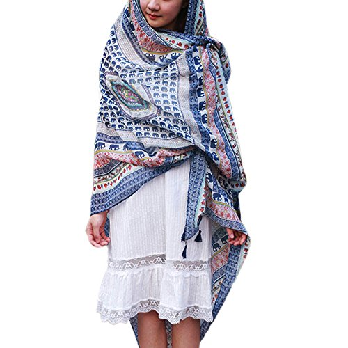 Sommer Damen Chiffon Sarong Pareo Wrap Wraps Schal Schals Wickel Sonnenschutz Schal Kleid (Wrap-around-rock-muster)