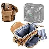 DURAGADGET Borsa A Tracolla Media per Nikon KeyMission 360 | 170 | 80 - con Tasche per Piccoli Accessori