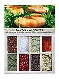 Gambas a la Plancha – 8 Gewürze für spanische Garnelen von der Grillplatte (55g) – in einem schönen Holzkästchen – mit Rezept und Einkaufsliste – Geschenkidee für Feinschmecker – von Feuer & Glas
