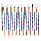 Make Up Pinsel Set 20 pcs Foundation Eyebrow Eyeliner Blush Cosmetic Concealer Brushes Kosmetikpinsel