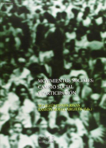 Movimientos sociales : cambio social y participación (VARIA) por Mª Jesús FUNES RIVAS