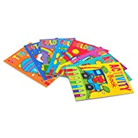 8 X A6 Mini Colouring Books For Kids Party Bags Fillers Toys