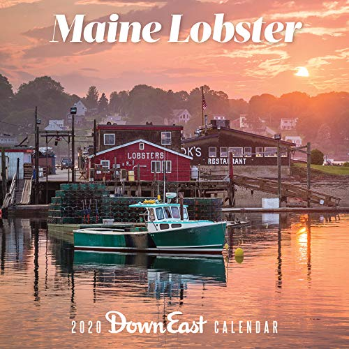 Maine Lobster 2020 Calender por Down East