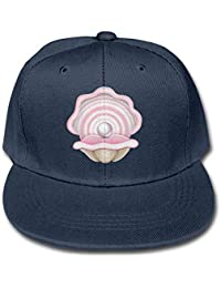 Nifdhkw Solid Color Baseball Cap Trucker Hats Oyster with Pearl Boy-Girls  Unisex27 19a8e81e7a4
