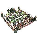 Best unknown Toys For Planes - MagiDeal 146 Pieces Army Men Playset 5cm Soldier Review
