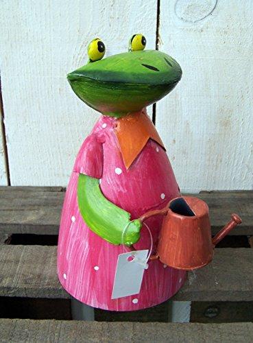Zaunhocker Frau Frosch Gießkanne
