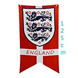 Baifeng WM 2018-England-Flagge, Flagge der FIFA-Weltmeisterschaft Mascot Muster Bunting Banner mit Flagge