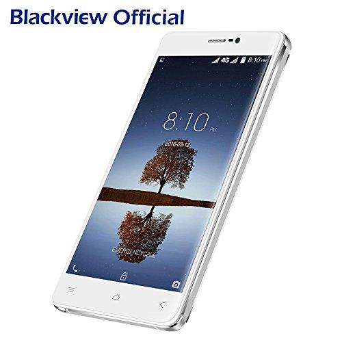 Smartphone ohne Vertrag, Blackview A8 MAX 4G-LTE Dual Sim Handys, 5.5 Zoll IPS HD Touch-Display, 2GB+16GB interner Speicher, 3000mAh Große Kapazität Android 6.0, 8MP Hauptkamera+5MP Frontkamera