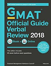 GMAT Official Guide 2018 Verbal Review: Book/Online