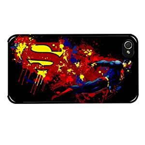 Hairyworm-The Superman iPhone 5/5S Hard Back Plastic Cover Case Skin For The Mobile Phone