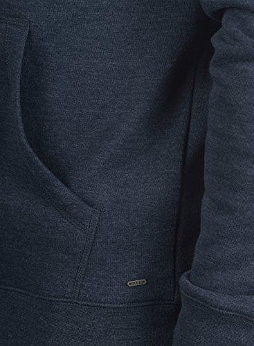 SOLID BertiZip - Felpa Con Zip da Uomo Insignia Blue Melange (8991)