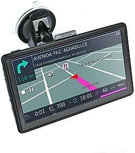 Ohrex Classic 718 17 8 Cm Truck Auto Gps Satellite Navigation Mit Kostenloser Lebenslanger Eu Uk Wort Karten Updates Und Poi Lane Unterstützung Bluetooth Av In Navigation