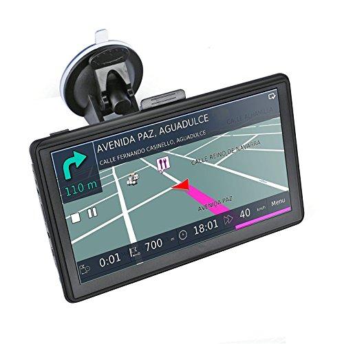 5 Pollici GPS Navigatore Sattelitare GPS Mappe Precaricato Europa, Caricatore a Doppia USB, Aggiornamento Mappe a Vita