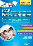 Objectif CAP Accompagnant Educatif Petite Enfance - épreuve professionnelle...
