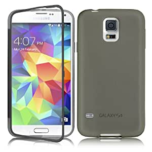 SherPome® Samsung Galaxy S5 Cover Case Shell Case TPU + PC (Gris)