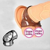 Sisit Colliers de Vibrations pour Hommes Retardent L'Anneau de Pénis d'éjaculation Précoce