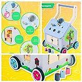 Playland Lauflernwagen / ab 9 Monate / mit gummibeschichteten Rädern / vielen Spielmöglichkeiten