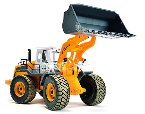 RC Auto kaufen Baufahrzeug Bild 3: Carson 500907192 - Fahrzeug, 1:14 Radlader 27MHz, 100% RTR*