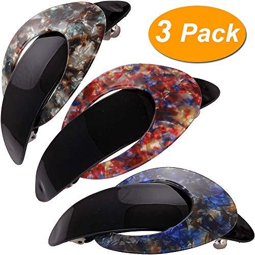loneedy schön Floral Style Einfach Retro Classic Große Haarspangen Haar Pins, exquisite Haar Clips für Frauen