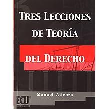 Tres lecciones de teoría del derecho