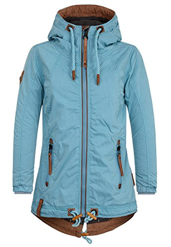 Naketano Female Jacket Arsch im Ärmel Dirty Turquoise, S