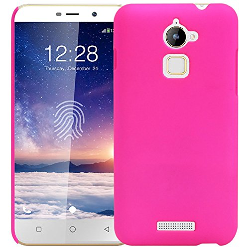 WOW Imagine™ Rubberised Matte Hard Case Back Cover For COOLPAD NOTE 3 LITE (5.0 inch) - Pink