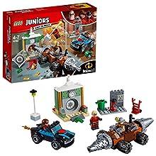 LEGO Juniors Les Indestructibles 2 - Le braquage d'une banque du Démolisseur – 10760 - Jeu de Construction