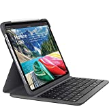 Logitech SLIM FOLIO PRO, rétroéclairé, étui clavier sans fil Bluetooth, pour iPad Pro 11 pouces FR Layout (3e génération) - Noir