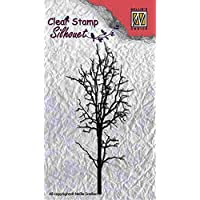 """Nellie Snellen SIL007 Silhouette Clear Stamps """"tree-1"""""""