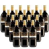 18er SET Rotwein Monte Carbonero Tinto 2016 aus Spanien, 1 Liter Flasche