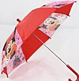 Kinder-Regenschirm Motiv Minnie Mouse in rosa/rot (KSD04)