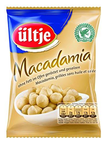 Preisvergleich Produktbild ültje Macadamia,  ohne Fett geröstet und gesalzen,  2er Pack (2 x 150 g)