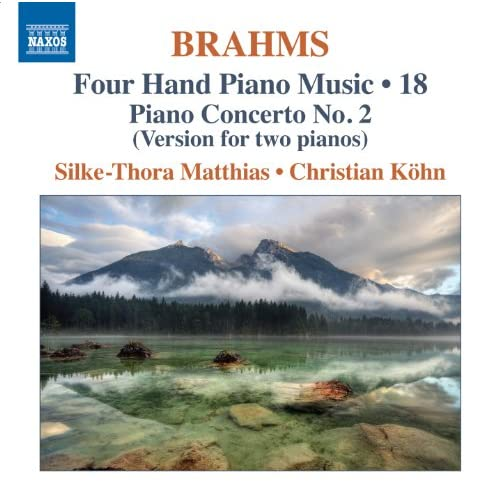 Brahms: Four-Hand Piano Music, Vol. 18