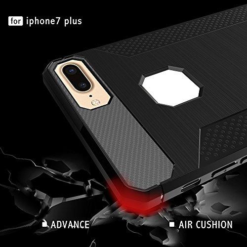 Custodia iphone 6S Plus iphone 6 Plus, cmdkd Custodia Silicone Ultra Sottile Di Shock Assorbimento Paraurti in TPU Morbida per iphone 6S Plus iphone 6 Plus. (Trasparente Grigio) Porpora