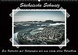 Sächsische Schweiz (Wandkalender 2020 DIN A2 quer): Traumhafte Landschaft im Elbsandsteingebirge, ein Kalender mit Fotografien wie aus einem alten ... (Monatskalender, 14 Seiten ) (CALVENDO Natur) -