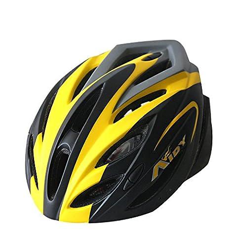 Eco-Friendly Super Light Casque intégralement vélo, réglable léger Mountain Road Bike Casques pour les hommes et les femmes