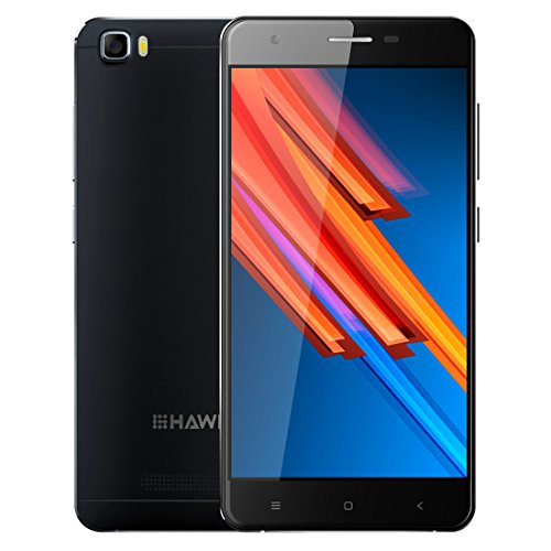 HAWEEL H1 Pro Smartphones, 5.0 inch Screen Android 6.0 4G LET Unlocked Cell Phones with Quad Core Sim Free 8gb ROM 1gb RAM(Black)