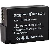 Mitsuru® batterie de rechange pour Panasonic DMW-BLC12 DMW-BLC12E DMW-BLC-12 DMW-BLC12PP , Panasonic Lumix DMC-G5 DMC-G5K DMC-G5X DMC-G5W