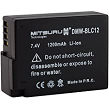 Mitsuru® batería para Panasonic BLC-12 DMW-BLC12 recambio para Panasonic Lumix FZ200 G5 G6GH2 DMC-FZ300 DMC-FZ1000 DMC-G70