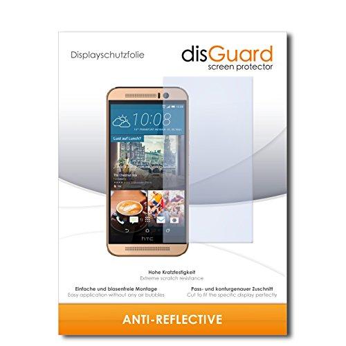 disGuard® Displayschutzfolie [Anti-Reflex] kompatibel mit HTC One M9 (Prime Camera Edition) [2 Stück] Entspiegelnd, Matt, Antireflektierend, Extrem Kratzfest, Anti-Fingerabdruck - Panzerglas Folie, Schutzfolie