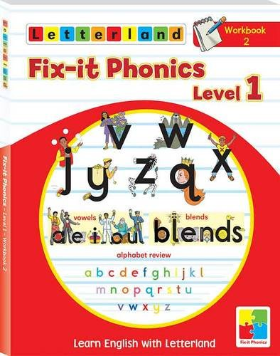 Fix-it Phonics: Workbook 2 Level 1: Learn English with Letterland