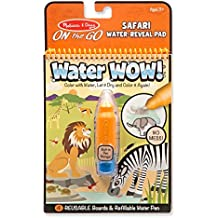 Melissa & Doug on The Go Water Wow Water Reveal Activity Pad, Multi Color