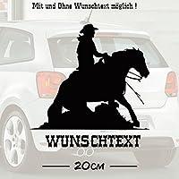Sliding Stop #2 mit Wunschtext | Auto Aufkleber | Pferde | Tiere | Wunschtext